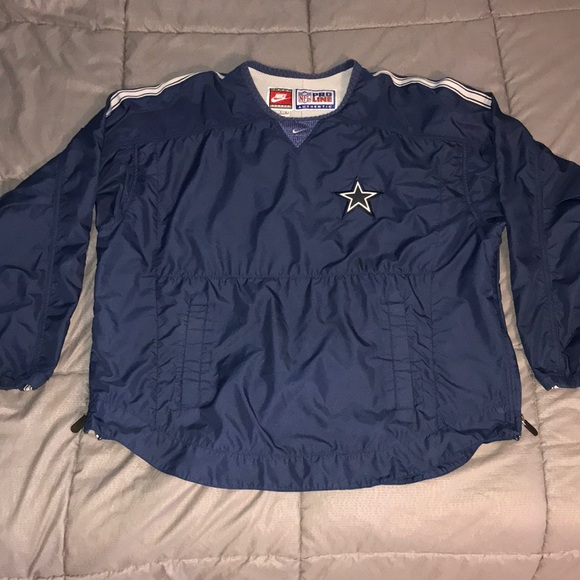 low priced 640d2 e3ac8 Vintage Nike Pro Line NFL Cowboys Jacket